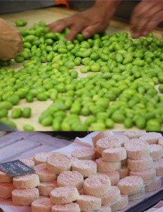 local foods in the Mediterranean, cheese and olives