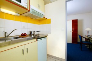Apart-Hotel open plan living space to rent in Montpellier