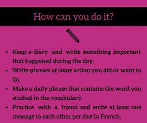 Learn French - Write